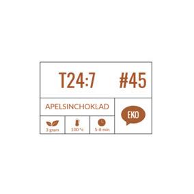 T24:7 #45 Apelsinchoklad, 100g