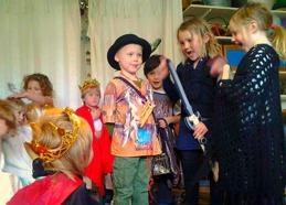 Teater och kultur älskas av barnen!