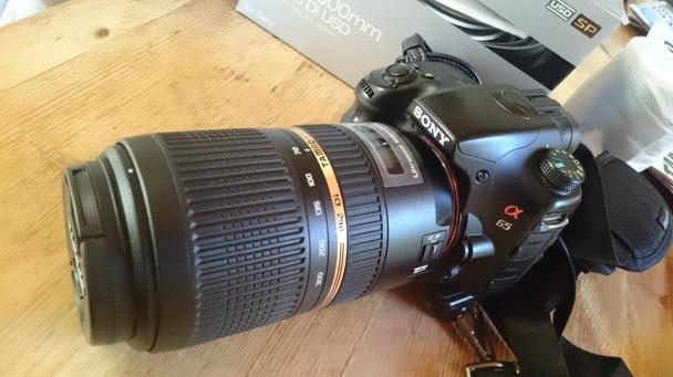 Tamron SP 70-300m F/4-5,6 Di USD, Sony A65