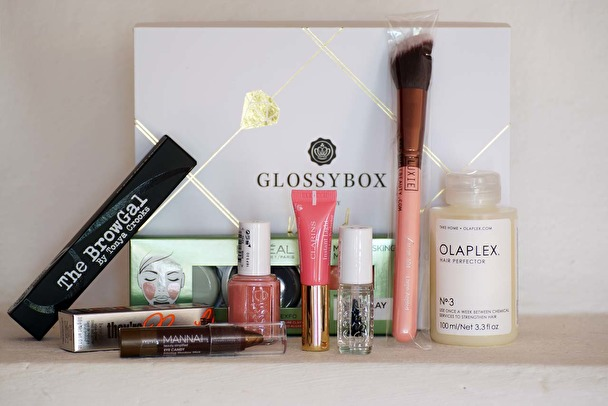 Glossybox - Limited Edition by Kenza Zouiten