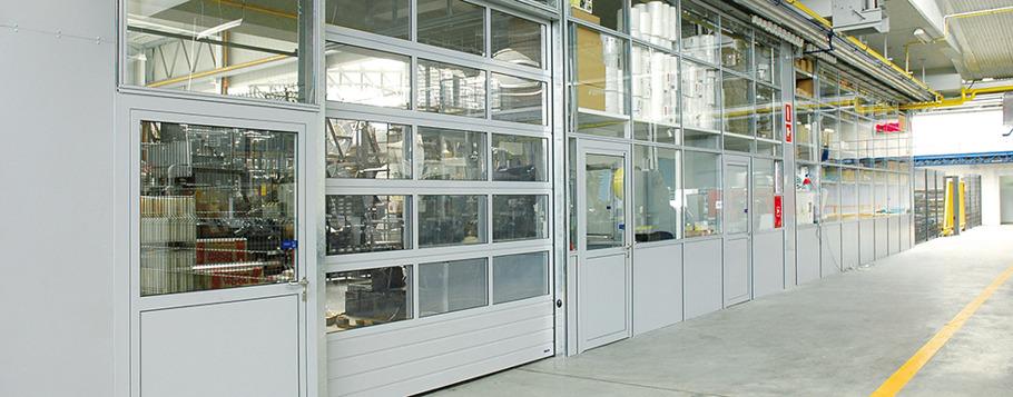 garageport för industri