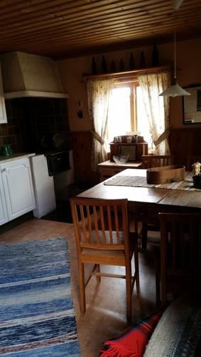 Köket i stora stugan