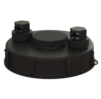 IBC Lock D 160 mm. Snabbfylln.
