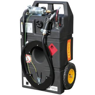 Bensintank 95 lit. man. pump