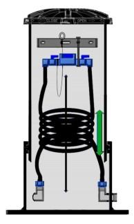Vattenmätarbrunn D 400 mm. - 1500 mm