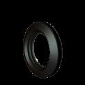 Gummimuff för 110 mm. rör