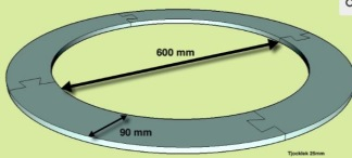 Tätningsring 600-780 mm -