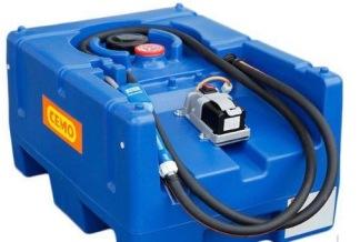 Adblue tank 125lit. Batteri -