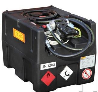 Bensintank 190 lit. 12V pump -