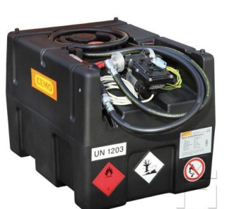 Bensintank 120 lit 12V pump -