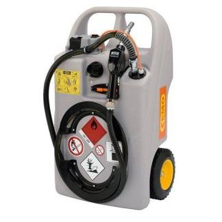 Dieseltankpå hjul 100 lit. batteri