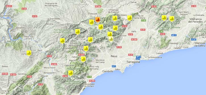 The Region Costa Daurada Cycling Training Camps In Spain