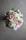 Brudbukett i mixade blommor så som trädgårdsros, freesia, astrantsia.