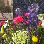 Färrgsprakande blomsterdekoration