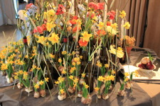 Ett dukat blomsterbord till Carl Michael Bellman av Veronica Norrgård