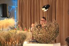 SteinAre Hansen floristdagen 2016 med en videkorg