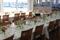 Sensommarbröllops bordsdekoration