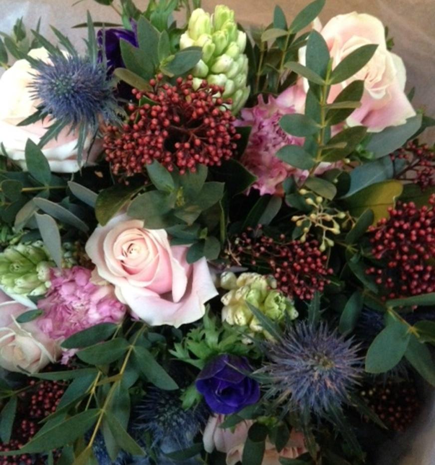 Blomsterkurs- för inspiration, umgänge och glädje