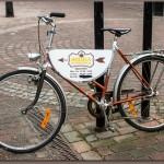 """Cyklar är vanliga """"trottoarpratare"""""""