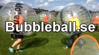 Spela bubbleball/bumperball i hela landet med oss - klicka på bilden för mer info och bokning!