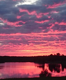 170719 Magisk himmel fotad hemma.