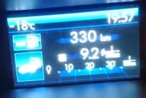 5.1  var det -18 på kvällen. Vinterns kallaste soo far ......