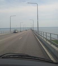Ölandsbron är ju häftig att åka :)