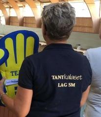 Lagledare Maggan ska ha en applåd för sitt stöd  till oss alla tre :) TACK goa du !