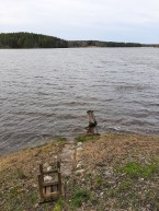 200101 Badstranden översvämmad och öppen sjö