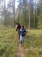200418 skogspromenad
