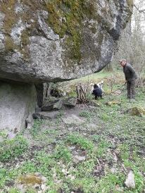 Inlandsisen flyttade stenblock till fantastiska platser.