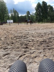 200702 Vi har det bra ihop CT och jag med våra fina hästar och bra upplägg !