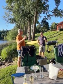 200803 Grillkväll med Anders och ..