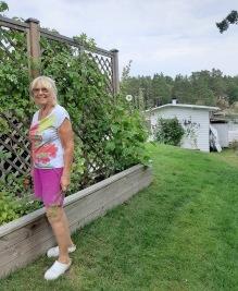 200822 Hos mamma på Vindö. Äntligen :)