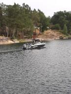 200822 Lars passade på att följa med Helen i hennes båt på en tur :)