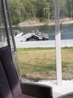 200822 Vi hade koll på hur de angjorde bryggan :)