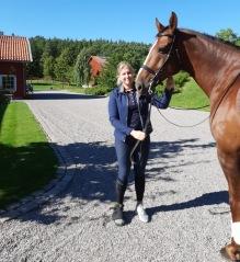 200910 Hos Tinne med Paulina som sällskap idag :)