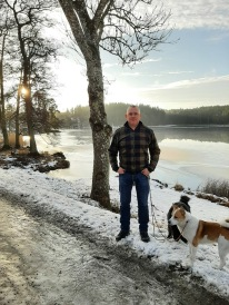 Hundpromenad och Lars fick tom SOL !