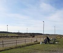 210420 Första träningen på fam Mûllers fina gård i Heby. Soligt och vindstilla :)  Bra ställe och 8 bra elever :).