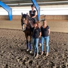 Teamet runt Delecto QRE som ger en glad energiboost att vara del av. Pernilla Jännesäter rider, Erika Asp Lindström äger och är gravid :), jag coachar. Superkul !