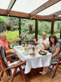 210625 Midsommar hos Marie och Claes är en härlig tradition vi uppskattar :)
