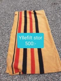 Nr 6.)  Yllefilt 500:-
