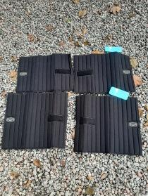 Nr 109.) NYA Svarta bandagepaddar 4st 400:-
