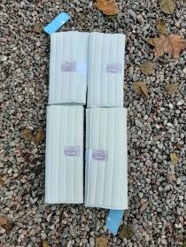 Nr 110.) NYA Vita bandagepaddar 4st 400:-