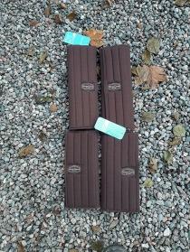 Nr 111.) NYA Bruna bandagepaddar 4st 400:-