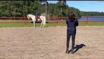 210821 Det är så galet kul med welsh på banan igen ! Elna Asplund kom med båda sina fina så jag fick min ponnylängtan stillad :)
