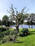 många traktorskopor blir fulla innan allt är borta.