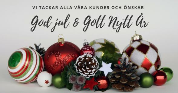 God Jul önskar Naprapatkliniken i Piteå