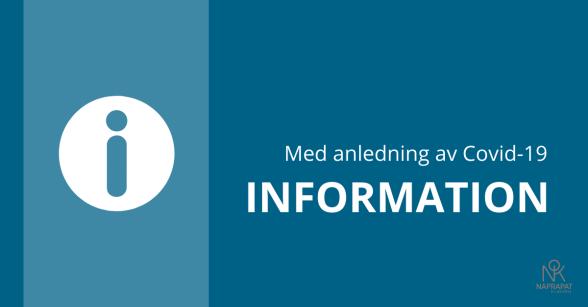 Naprapatkliniken i Piteå: information med anledning av Covid-19