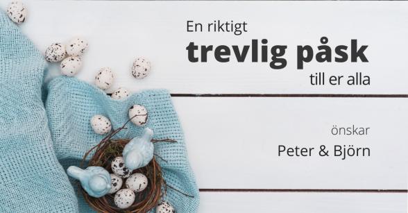 Naprapatkliniken i Piteå önskar trevlig påsk